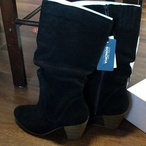 Sonoma Shoes - NWT Genuine suede boots